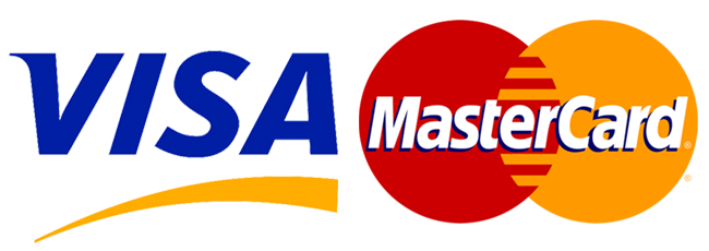 An image depicting the logos of Visa and Mastercard.